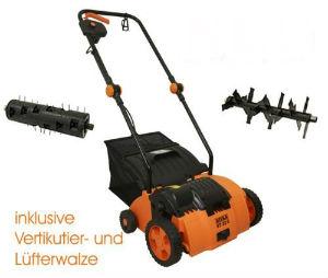 ATIKA VT 32 Z VertikutiererRasenlüfter 1400 Watt